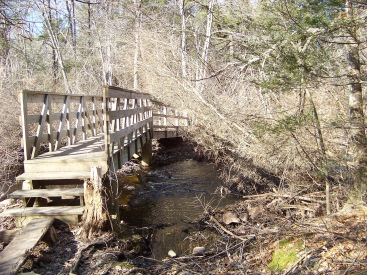bridge over cushing brook at colby phillips