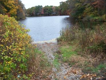 cushing pond boat launch