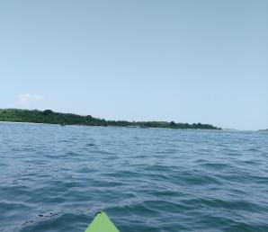 Hingham Bay of Boston Harbor.