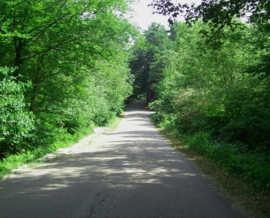 Near the end of Union St in Wompatuck State Park.